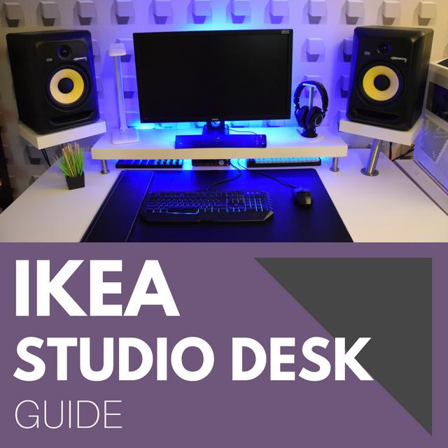 Ikea studio desk guide pro music producers for Studio desk ikea