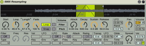 Creating A Riser In Ableton 4