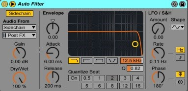 How To Use Sidechain In Ableton Live 4