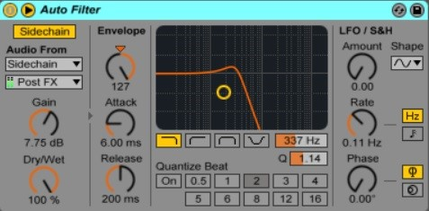 How To Use Sidechain In Ableton Live 6
