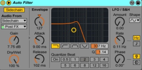 How To Use Sidechain In Ableton Live 7