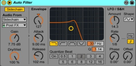 How To Use Sidechain In Ableton Live 8