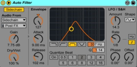 How To Use Sidechain In Ableton Live 9